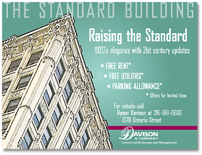 The Standard Building ad